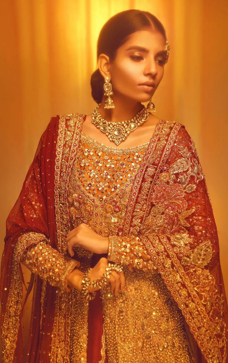 472ab53def Buy this beautiful and elegant tradion wedding dress by pakistani party  dresses 2018 at a reasonable