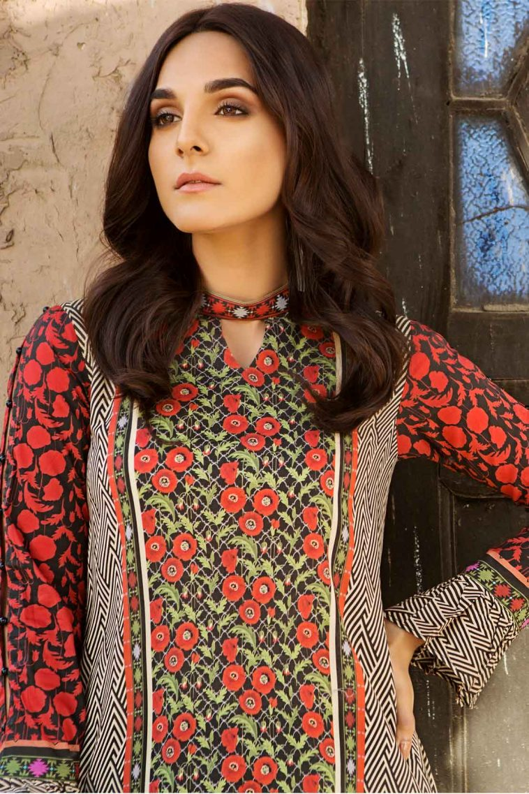 9efa69bad0 Buy this lawn printed dress by Pareesa Casual Pakistani clothes in UK 2018  available at a