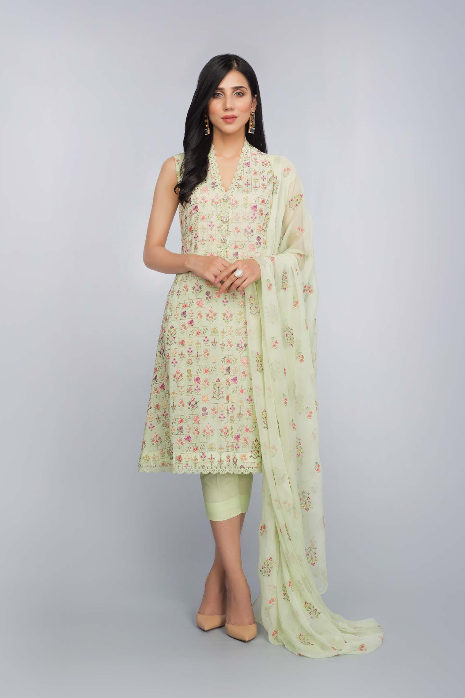 7670698b48 Buy Online Peacock Printed Lawn Suit by Bareeze Summer Collection ...