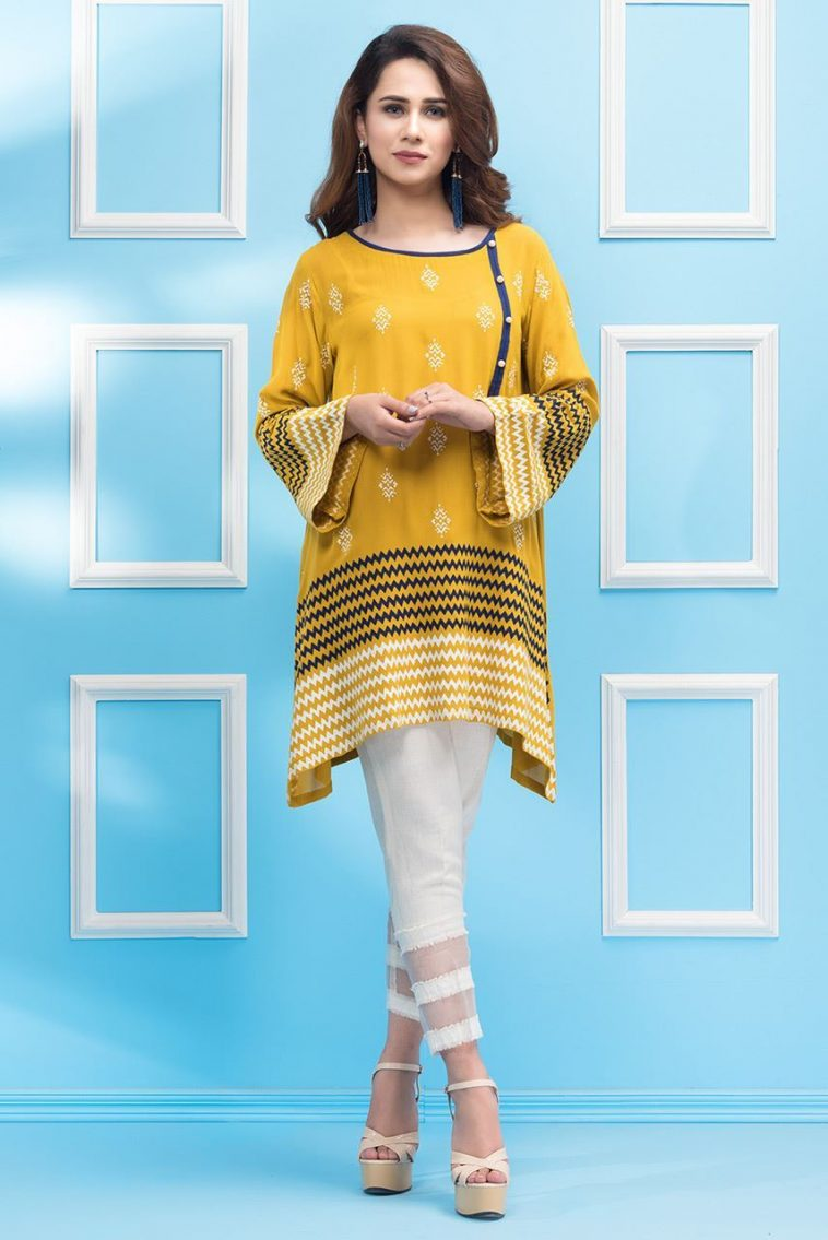 38e26e8d3f 9 Beautiful and Stylish Pakistani Casual Dresses by Phatyma Khan Official