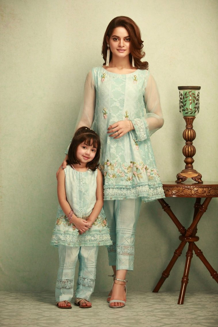 3d0e1943f6 Beautiful and Embellished Pakistani Party Dresses by Phatyma Khan Online