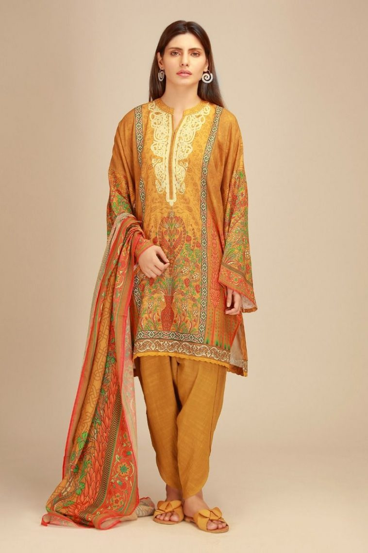 e3d2da5afa9 by Pakistan Pret Wear · ShareTweetPin It. Khaadi Winter s Digital Printed  Khaddar Kameez