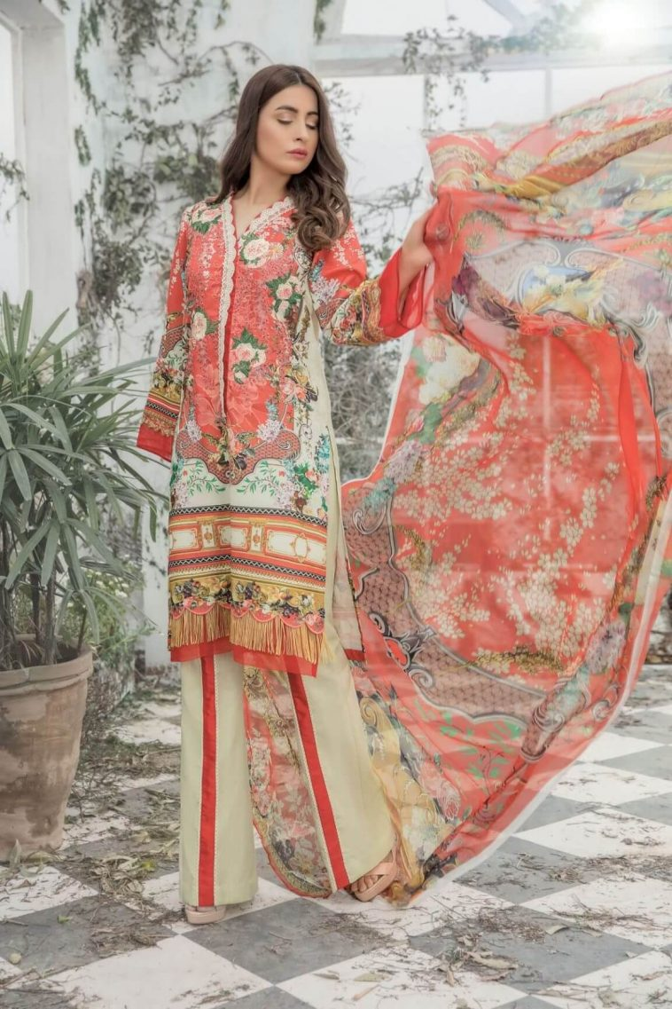 62a43b461f Eid Collection 2019 – the most beautiful and stylish Eid wear (1)
