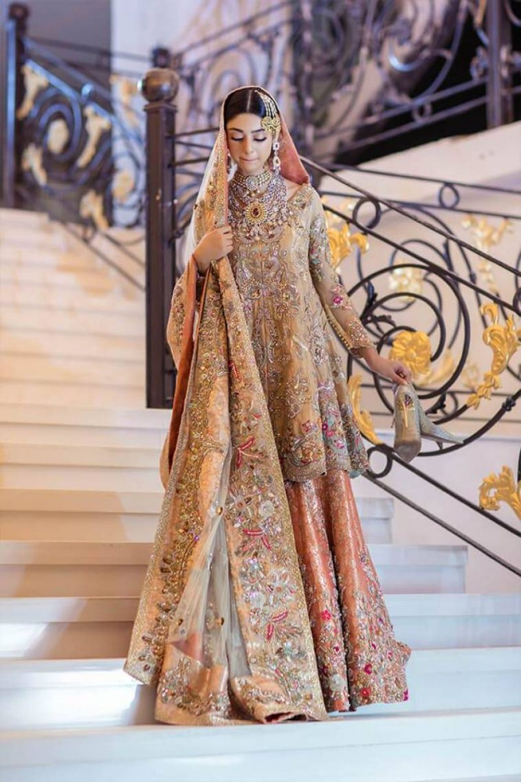 Pakistani Wedding Peplum Dresses For Brides In 2020 Online Shopping In Pakistan